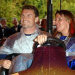 08/07/2005 STOWE HOUSE, STOWE, BUCKS FORMULA 1 RACING DRIVER DAVID COULTARD SHOWS OFF HIS DRIVING SKILLS ON THE DODGEMS IN THE GARDENS OF STOWE HOUSE, WHICH WAS THE VENUE FOR THE GRAND PRIX BALL, HOPE DAVID DRIVES A BIT BETTER IN THE RACE. THE EVENT IS THE HIGHLIGHT OF THE GRAND PRIX WEEKEND AND RAISES A LOT OF MONEY FOR CHARITY. THIS YEAR THE CHARITY WAS FOR MOTOR NEURONE DISEASE. BYLINE MUST READ: BLACK-McCORMACK/XPOSURE
